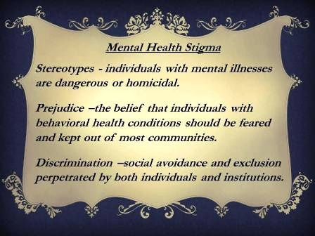 mental health stigma discrimination and prejudice These attitudes in the community are supported by ignorance, prejudice and  discrimination, and are perpetuated when mental illness is represented in an.