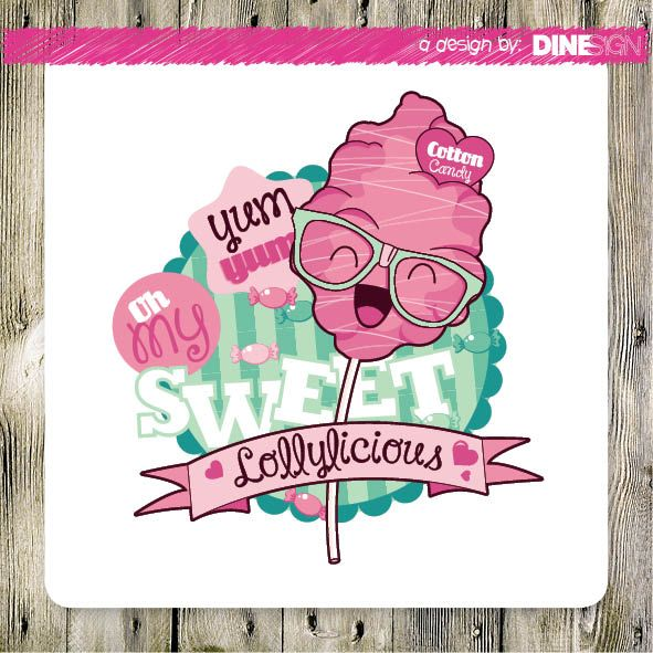 #lollylicious #cottoncandy #design  www.lollylicius.nl design by: www.dinesign.nl
