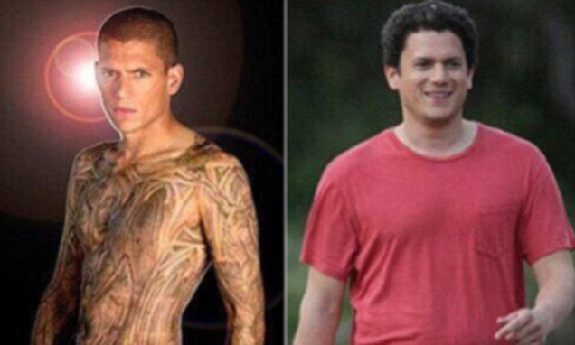 Wentworth Miller discusses suicidal past after fat-shaming meme