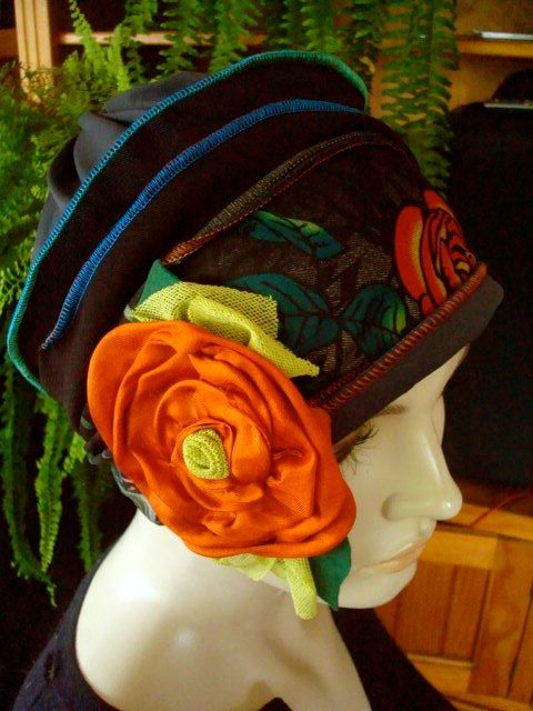 womens Chemo Hat Graffiti art  Soft hat with by GypsyLoveHeadbands