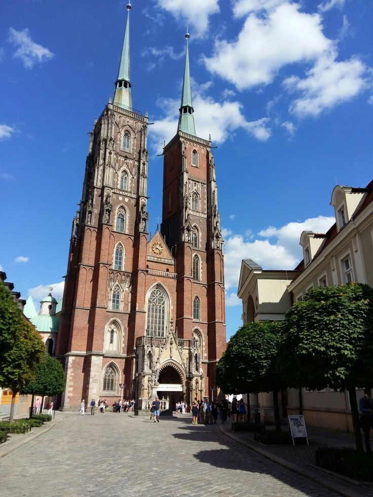 Kathedraal in Wroclaw