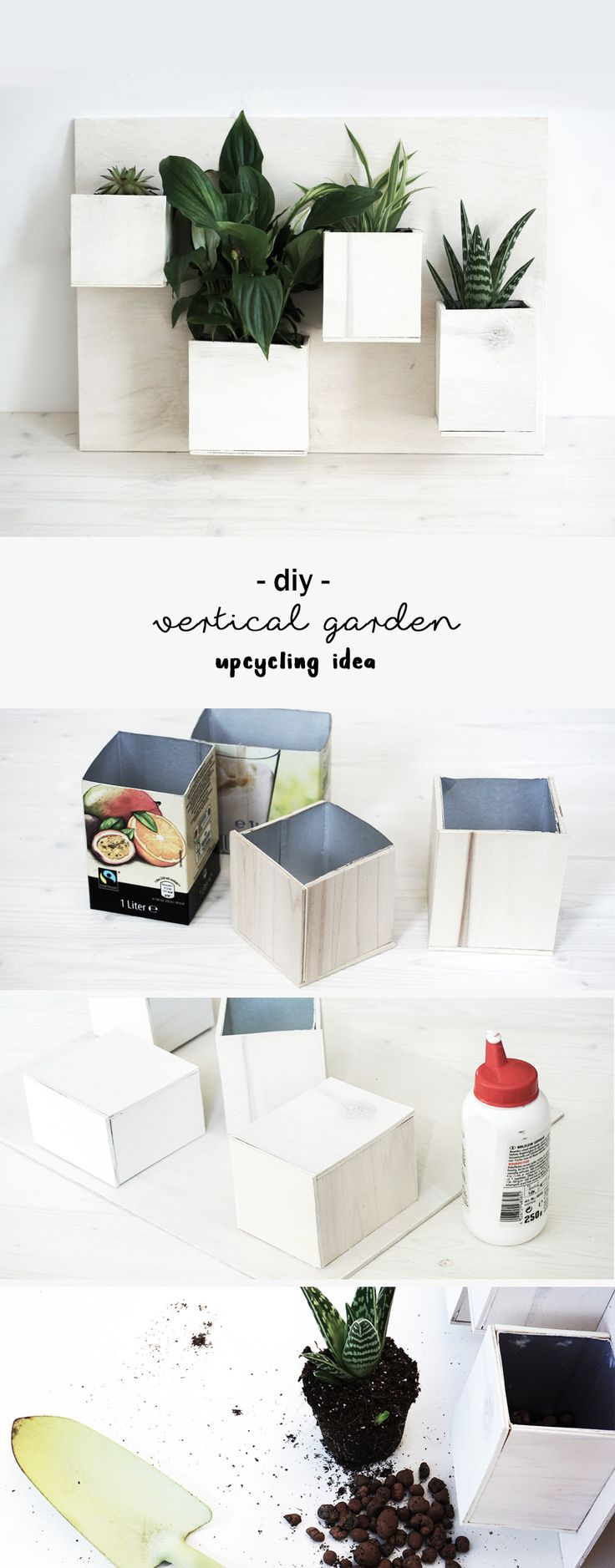 DIY Upcycling Idee Bild aus Pflanzen, hergestellt aus leeren Getränkekartons und Sperrholz | Holz | Do it yourself | Tetrapak | vertikaler Garten | grün | Sukkulenten | Urban Jungle Bloggers | basteln | Deko | Wand Begrünung | grüner Daumen | Nachhaltigkeit | nachhaltig | Recycling | Idee | Anleitung | Tutorial | kreativ | wood | Bild | Pflanzenbild | Geschenk | Geschenkidee | gift | plants | wall decoration | green | crafting | upcycling idea | handmade | selbstgemacht | beverage cartons |