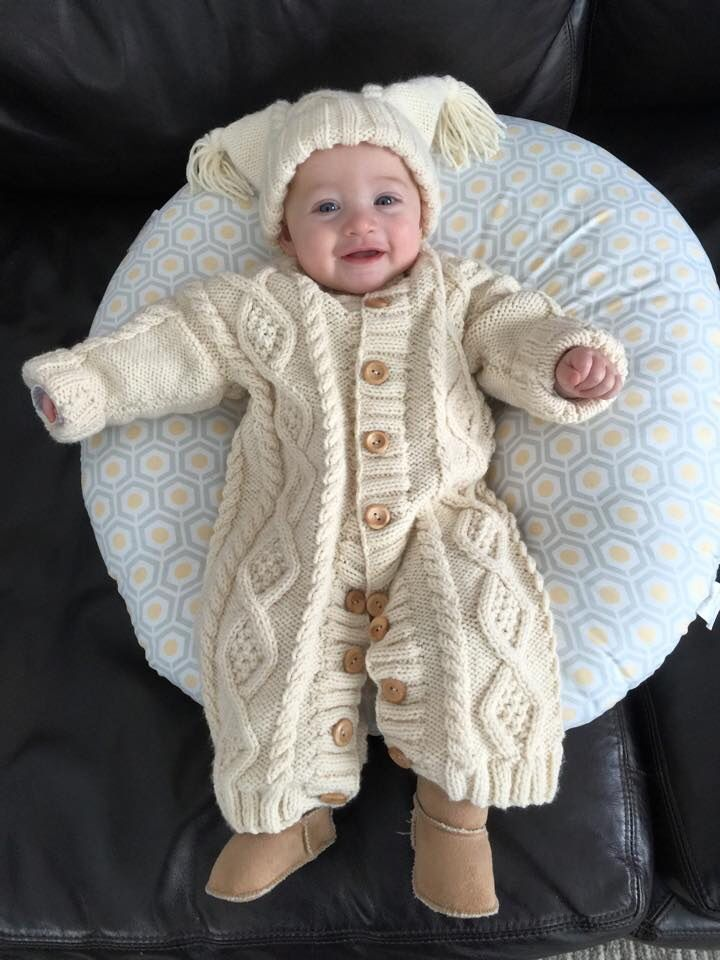Keeping Saoirse warm in winter