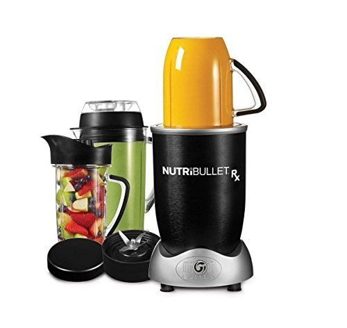 Magic Bullet Nutribullet RX Blender Smart Technology with Auto Start and Stop Recipe book included- 10 piece -- You can get more details by clicking on the image. #FoodProcessors