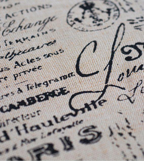 Retro brieven stof jute linnen hand geweven linnen, gordijnstof / bag / quilten / tafel loper / kussen cover - 1/2 de werf, zwaar gewicht, 350g/werf  Pak voor naaien crafting, home decor, tas, gordijn, quilten, tabel loper, kussensloop, naaien crafting decor  Condition: 100% nieuwe  Hoeveelheid: 1Pieces  Krimp 5-8%  Grootte: Breedte 55 inch (140cm), voor 18 X 55 (45 cm x 140 cm) vermeld. Wenst u een werf, zal ik het schip van 90 cmX140 cm.  Vriendelijk advies:  Koop meer dan één stuk, het…