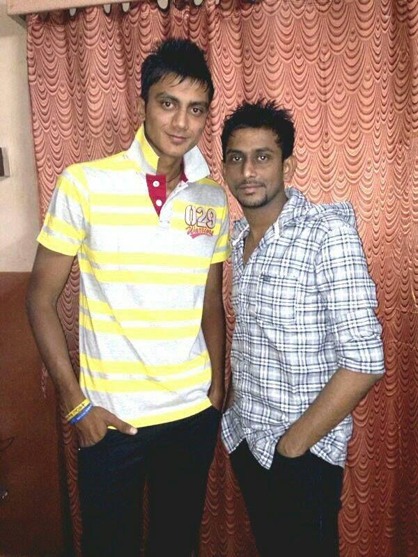 Akshar Patel With Sanship Patel