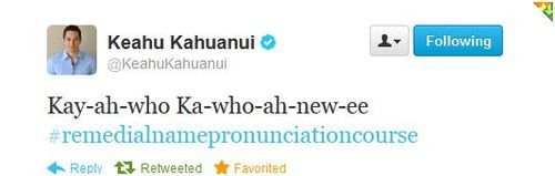 keahu kahuanui. That's actually rather helpful...thanks :)
