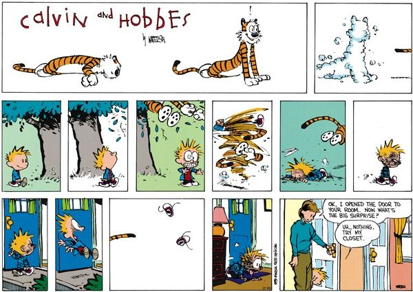 25+ Best Ideas About Calvin And Hobbes Comics On Pinterest