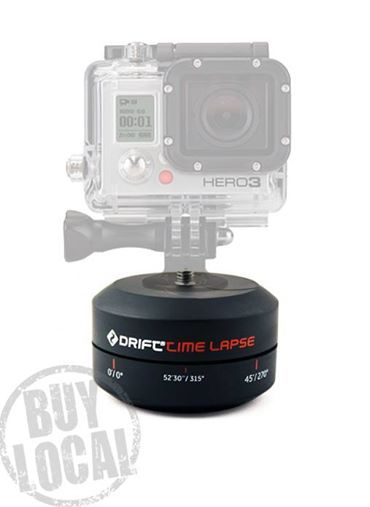 Want to do moving timlapse with you camera? $59.95, Has a standard tripod mount on both ends