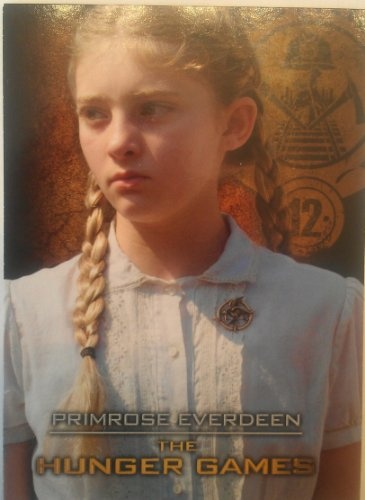 the hunger games trading card primrose everdeen - Primrose Everdeen Halloween Costume