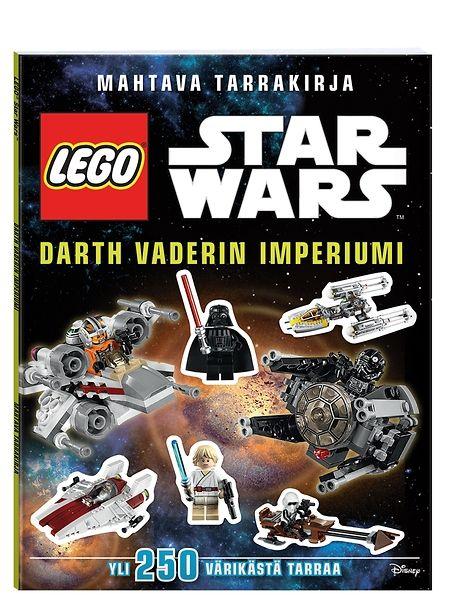 Jännittävä LEGO Star Wars, Darth Vaderin Imperiumi -tarrakirja tutustuttaa LEGO® Star Wars -maailmaan ja vie hurjaakin hurjempaan seikkailuun. Kirjan sivuilla opit mielenkiintoisia asioita tähtisaagasta, taistelualuksista, ajoneuvoista ja olennoista. Mukana on neljä runsasta tarra-arkkia, joilla kuvitat tarinan itse loppuun.