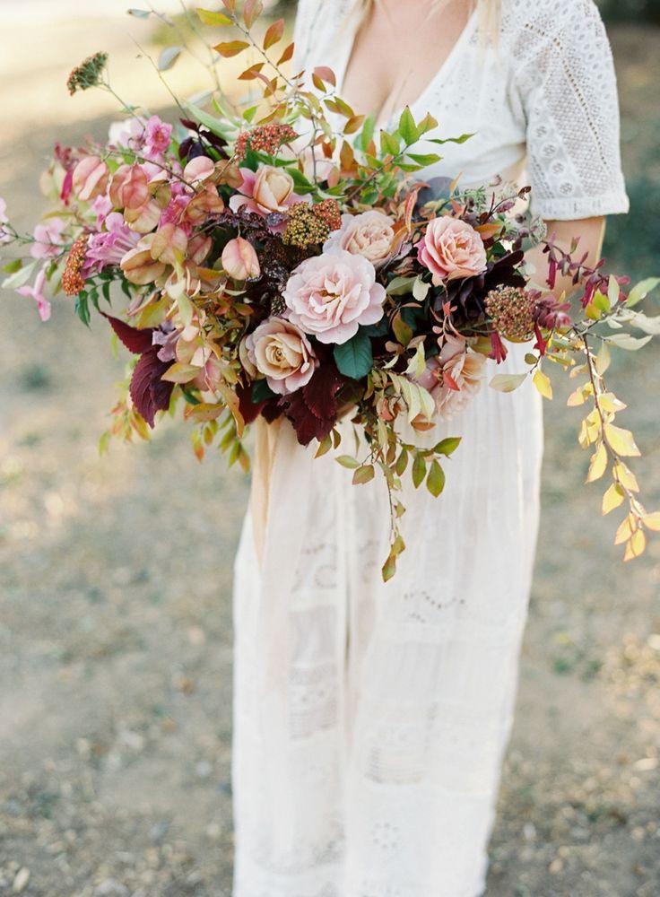 Fall wedding inspiration. Florist: plentyofpetals.com Michael Radford Photography