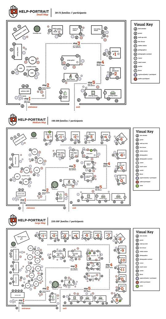 We've created some sample guides for you to reference as you plan how to set up your venue. These simple, yet detailed maps will help you cover your bases and make sure no detail is overlooked. Thi...