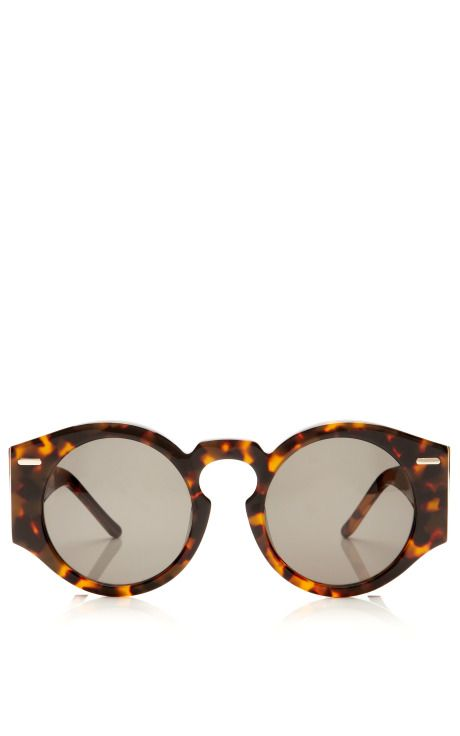 Fashion Month necessity: Oversized Round Sunglasses like these by Opening Ceremony