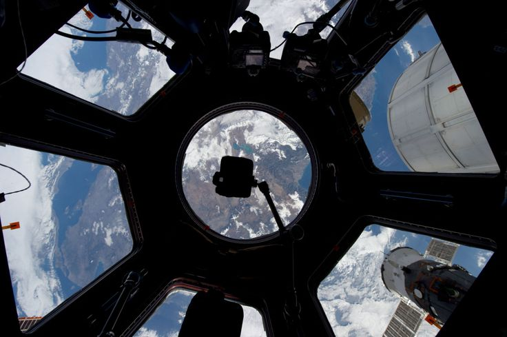 View of Turkey from the ISS Cupola