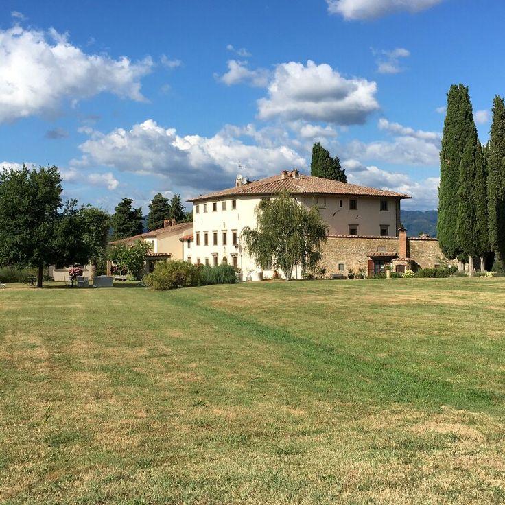 the sky over Villa Campestri.... #Mugello