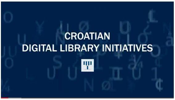 Videozapis Projekti uspostave Hrvatske digitalne knjižnice sjedinjuje projekte digitalizacije Nacionalne i sveučilišne knjižnice u Zagrebu.