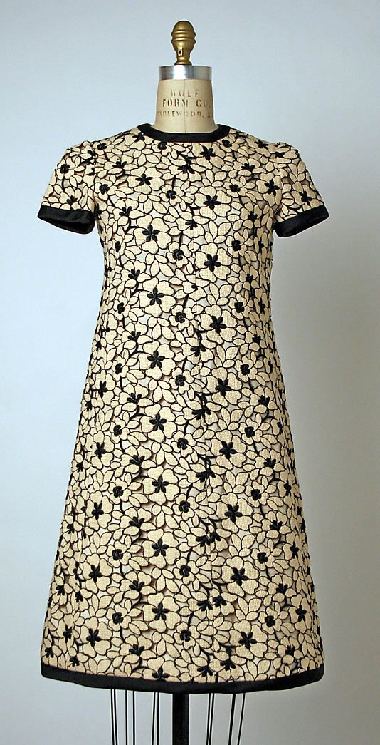 Dress, André Courrèges, ca. 1965, French, wool