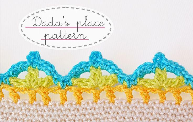 Dada's place: Crochet pattern