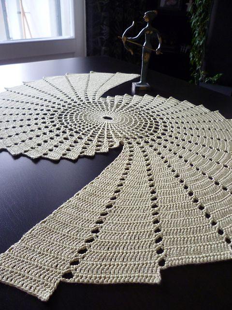 stunning fractal doily
