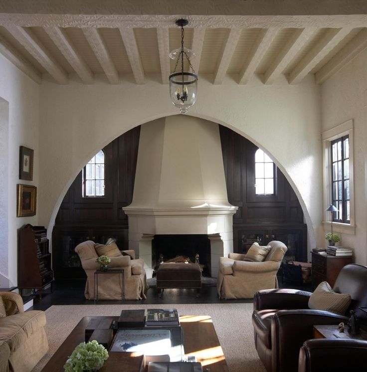 Things That Inspire: Inglenook Fireplaces    This Would Be A Great Fireplace  In A Spanish Colonial    They So Often Get Duds
