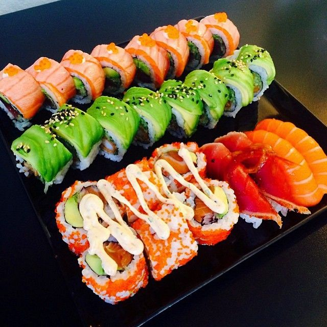 I adore sushi; easy to make and so flavorful. A perfect meal in itself.