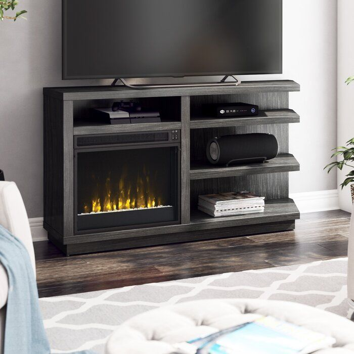 Blytheswood Tv Stand For Tvs Up To 65 With Electric Fireplace Included Furniture Fireplace Tv Stand Electric Fireplace