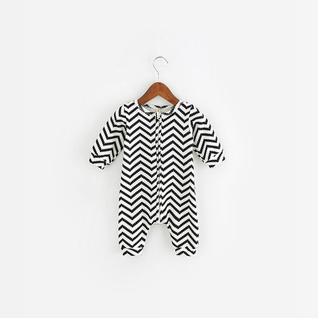 Aliexpress.com: Comprar Bebé ropa de niño patrón de la geometría de manga larga mamelucos del bebé de algodón recién nacido bebé mono de la ropa infantil ropa 4 Color de clothing gap fiable proveedores en lemonmiyu