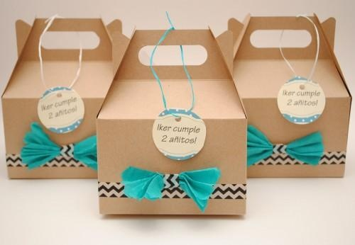 washi tape favor boxes
