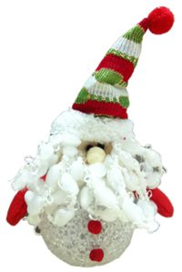 Noel Baba/Kardan Adam Hediyelik/Süs, Işıklı Işıklı masa süsü küçük hediyelik. Ofis arkadaşlarınıza, okul arkadaşlarınıza, yılbaşı partisi için davet ettiğiniz dostlarınıza hediye etmek için ideal.