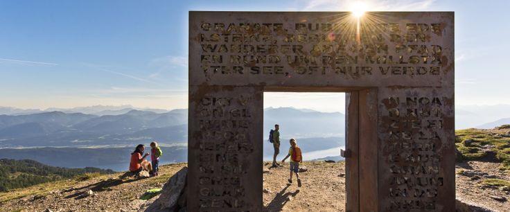 """""""Mein erster Gipfel. Ein rubinroter Schatzberg"""" Weitwanderangebot am Millstätter See Höhensteig für € 535,- pro Person.  Zum Angebot: http://www.weitwanderwege.com/angebote/angebot-millstatt-kaernten-wandern-familie/  Kostenlose Prospektbestellung: http://www.weitwanderwege.com/wege/millstatter-see-hohensteig/?anfrage  © Franz Gerdl, Millstätter See Tourismus"""