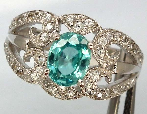 BLUE TOPAZ  SILVER RING  27.05 CTS  SIZE- 7.25   RJ-212  NATURAL  BLUE TOPAZ GEMSTONE RING   FROM GEMROCKAUCTIONS.COM