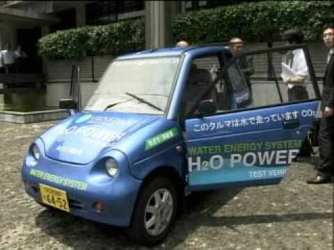 H2O Car - Water Powered Car  http://www.collective-evolution.com/2013/07/28/water-powered-car-unveiled-yes-its-real/