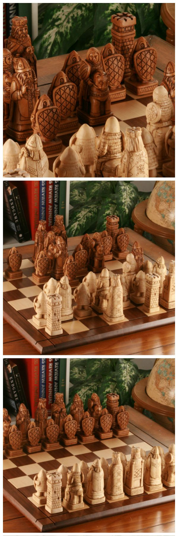 Chess pieces handcrafted entirely in US. #handmade