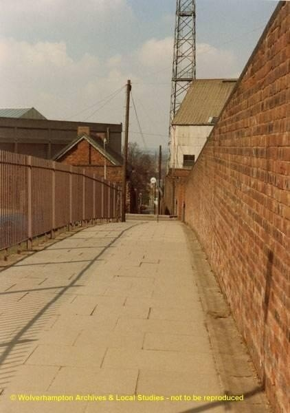 Molineux Alley late 1970s