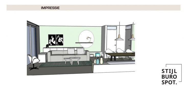 Een strak, licht en scandinavisch interieur | Stijlburospot | Interieurontwerp en interieuradvies Groningen