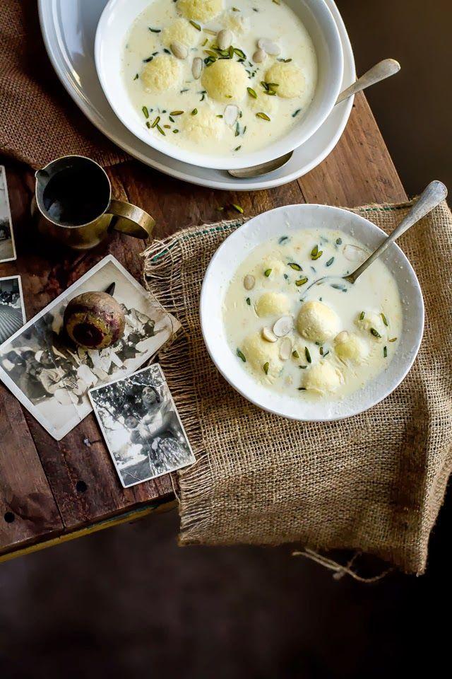 Ras Malai -  Sweet Milk Dessert with Dumplings