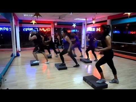 step avanzado aerobicos ivan veintimilla - YouTube