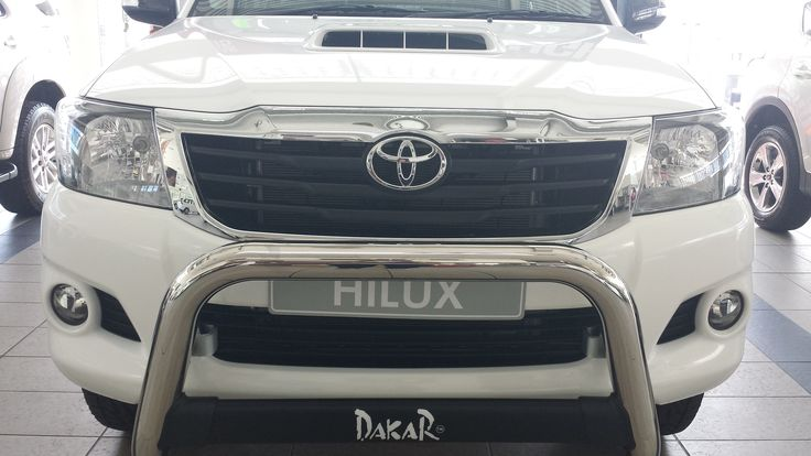 Toughness comes standard with the #Hilux #Dakar