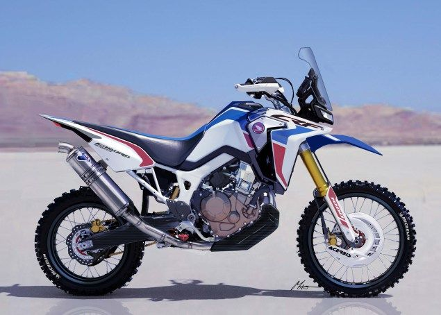Africa Twin Enduro Sports Concept Utah Dirtbike Tours www.AllmotoAdventure.com