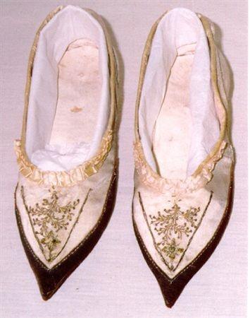 Woman's shoes, 1790