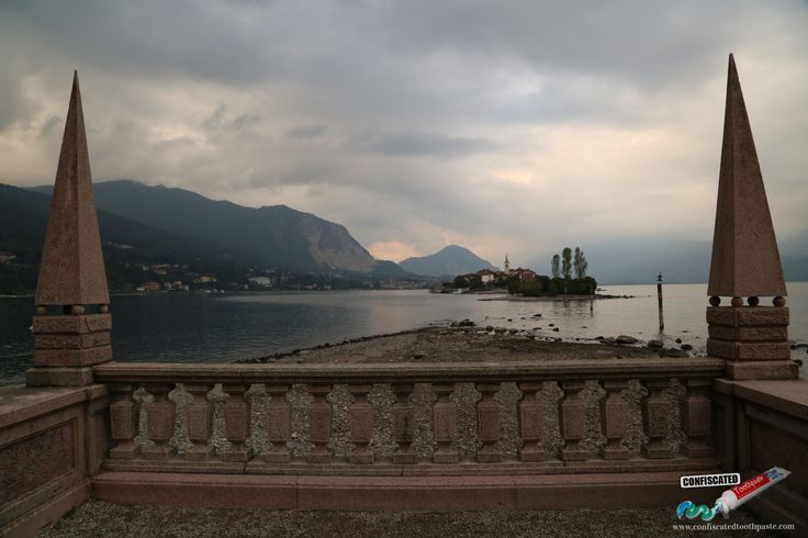 View from Isola Bella, Lago Maggiore, Italy. A Roadtrip through the Swiss Alps from Paris to Italy --> http://www.confiscatedtoothpaste.com/a-roadtrip-through-the-swiss-alps-from-paris-to-italy/