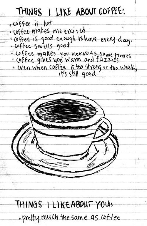 Things I like about coffee.
