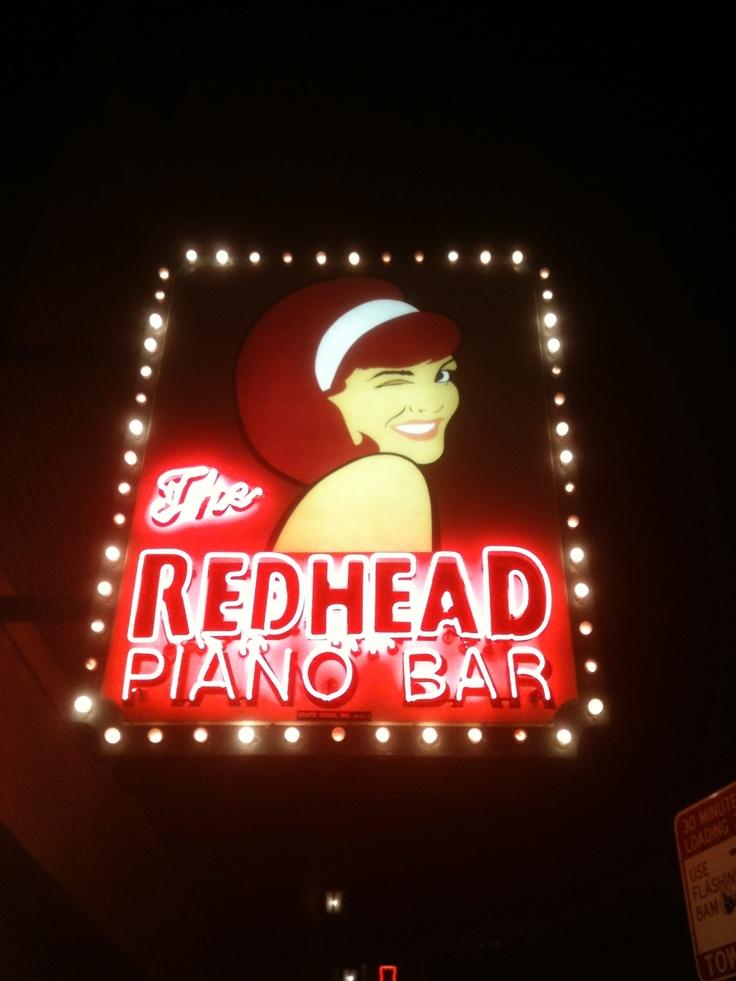 Red Head Piano Bar.