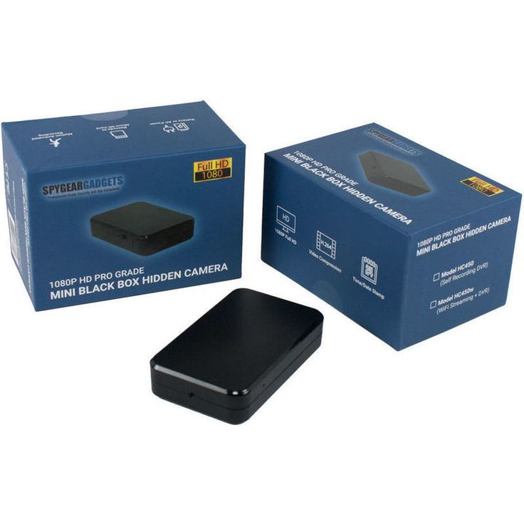 Pro Streaming Black Box Hidden Spy Camera 1080P | Buy Electronics