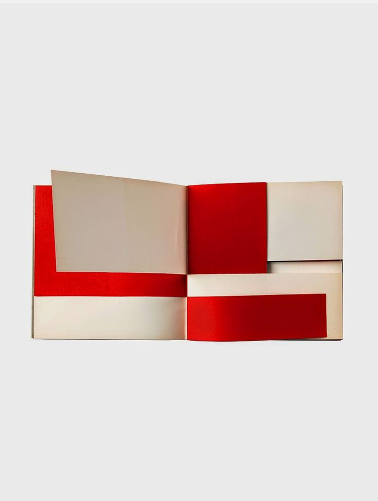 "Bruno Munari, ""An Unreadable Quadrat-Print"", Steendrukkerij de Jong & Co., Hillversum, 1953 / [36 pp.], 25 x 25 cm, softcover / Numbered edition of 2000"