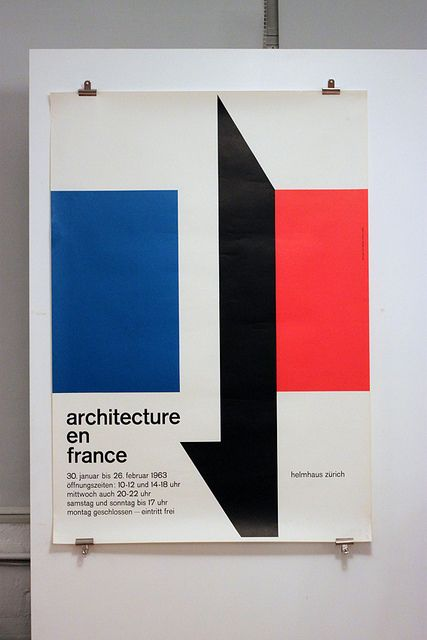 Architecture en France – Helmhaus Zürich 1963 by insect54, via Flickr