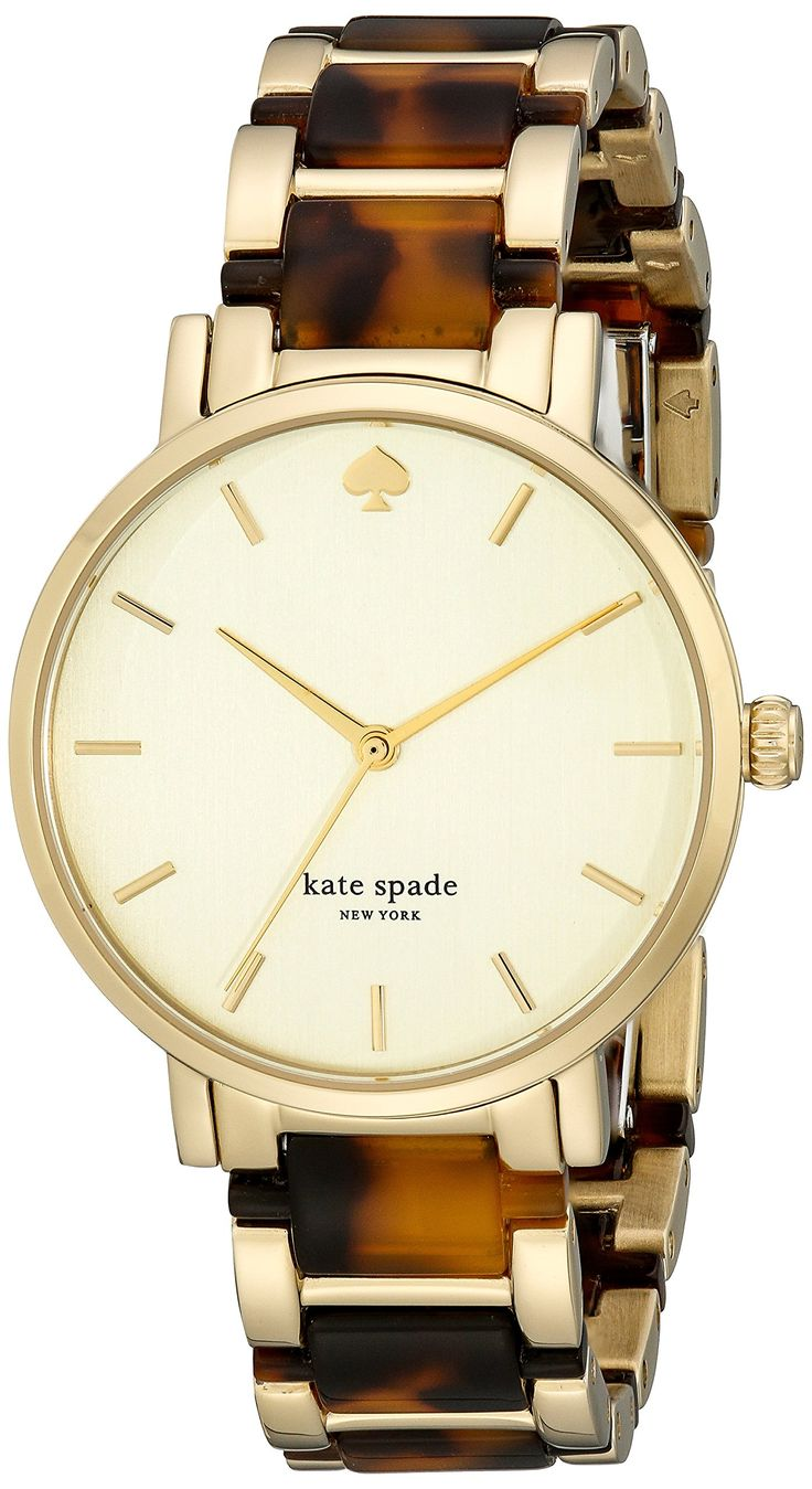 pretty kate spade tortoise shell watch