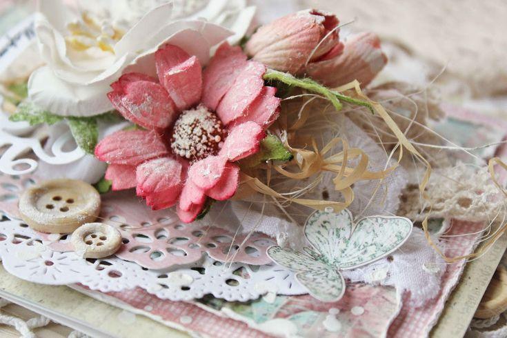 СкрапТеремок: Бабочковая открыточка и немного шебби-вдохновения