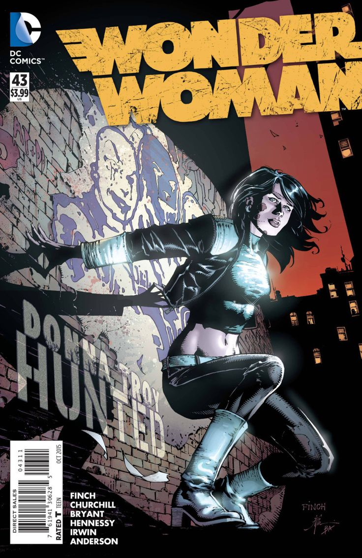DC Comics - Wonder Woman (2011) #43